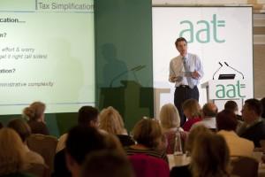 John Whiting speaks at last year's AAT Members' Weekender