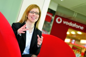 Myra Geater, who returned to work from maternity leave to forge a career at Vodafone