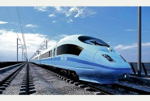 The proposed High Speed 2 (HS2) route line will cost £42.6bn