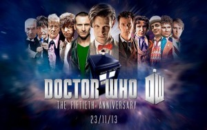 Doctor Who celebrates its 50th anniversary this weekend