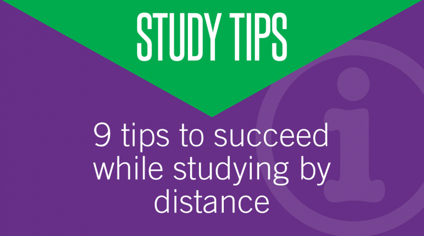 9 tips to succeed while studying by distance - AAT Comment