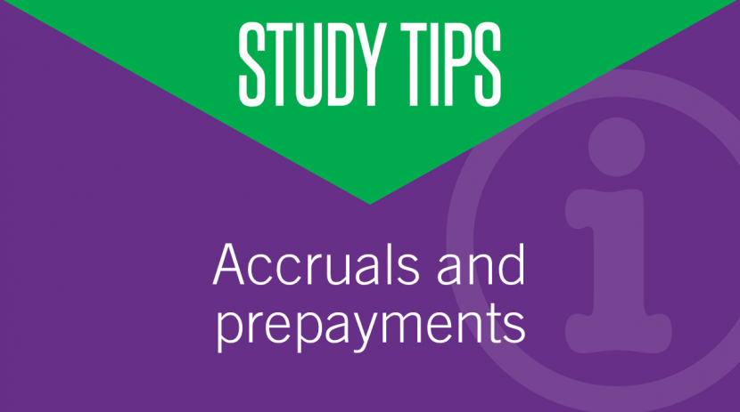 adjustment for accruals and prepayment The accrual or prepayment journals will alter the month to date and year to date balances for the expense so that accurate figures show for each month that the.