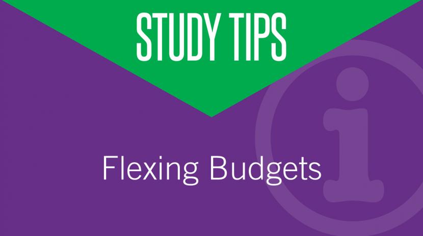 Flexing Budgets